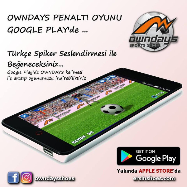 Owndays Penaltı Oyunu Google Play - Android